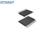 HT8697   9.5W、防破音、D类、双声道功率放大器