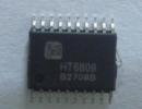 HT6808    3W、防破音、D类、双声道功率放大器