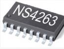 NS4263  超低EMI,3W×2双声道AB/D类切换音频功放