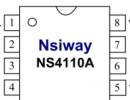 NS4110A 超低EMI,差分输入,20W单声道 , D类音频