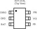 TB4016 防反接线性锂离子电池充电芯片 700MA 输出电压可调