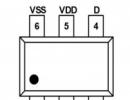 TB2025  单节锂电池保护二合一芯片 兼容型号DW06D/XB5306A/XB5307A